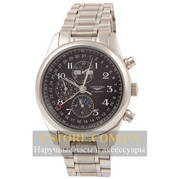 Longines Master Collection Black Silver (06334)