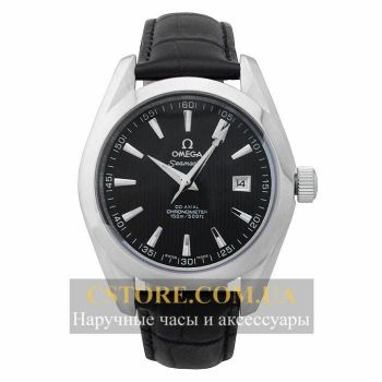 Часы Omega De Ville Co - Axial Chronometer Black Silver (06343)