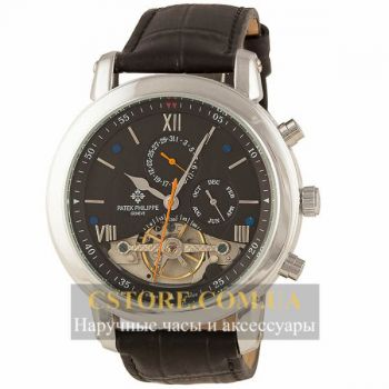 Часы Patek Philippe Grand Complications Black Silver (06354)