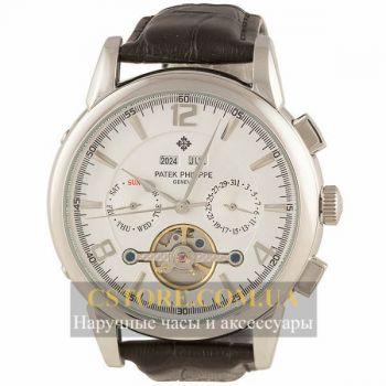 Часы Patek Philippe Grand Complications Tourbillon Silver White (06360)