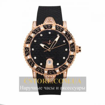 Часы Ulysse Nardin Lady Diver Starry Night Black Gold (06380)