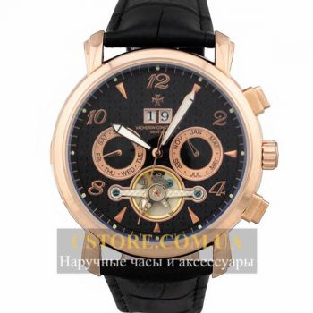 Vacheron Constantin geneve tourbillon gold black (06398)