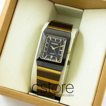 Часы Rado Jubile Tungsten gold black (06622)