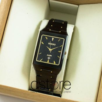 Часы Rado Jubile Tungsten gold black (06630)