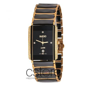 Часы Rado INTEGRAL DIAMONDS gold black (06721)