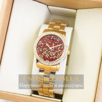 Часы Guess gold red (06918)
