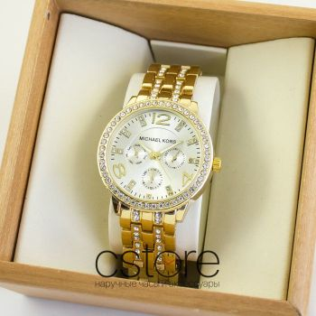 Часы Michael Kors gold white (06961)