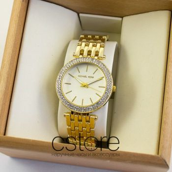 Часы Michael Kors gold white (06962)