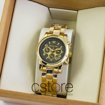 Часы Michael Kors gold black (06986)