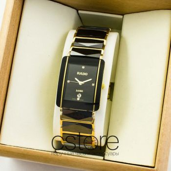 Часы Rado Integral jubile gold black (07114)