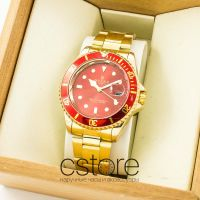 Часы Rolex Oyster Perpetual gold red  (07416)