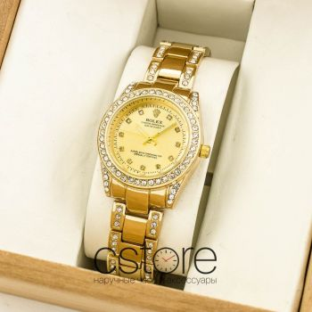 Часы Rolex Oyster Perpetual Datejust  gold gold (07686)