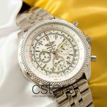 Часы Breitling for Bentley silver white (05060)