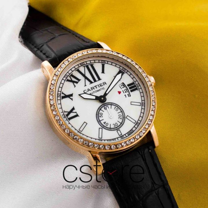 Часы Cartier gold white (05605)