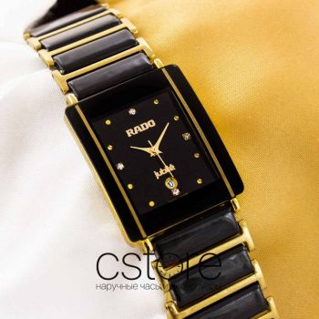 Часы Rado Integral jubile gold black (05690)