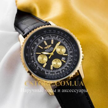 Часы Breitling Chronometre Navitimer gold black (05787)
