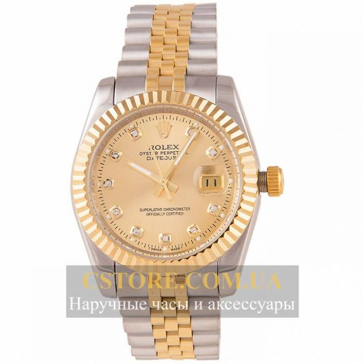 Часы Rolex Perpetual Date Just gold gold (05808)